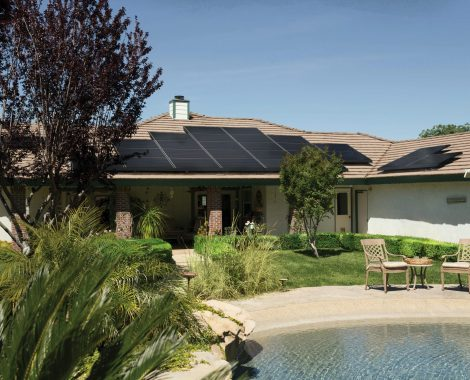 black-solar-panels-on-brown-roof-2850347